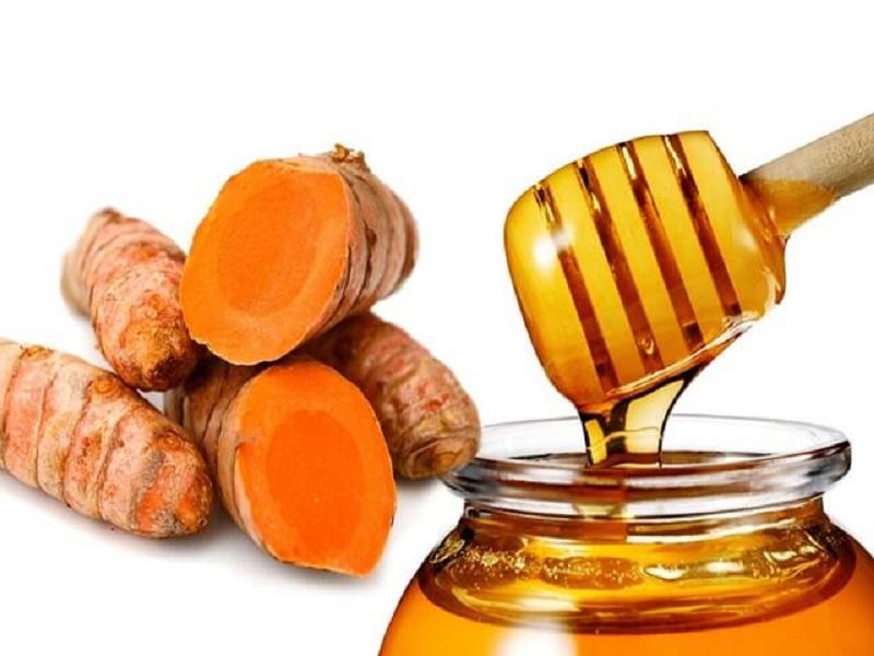 chữa trào ngược dạ dày bằng mật ong nghệ