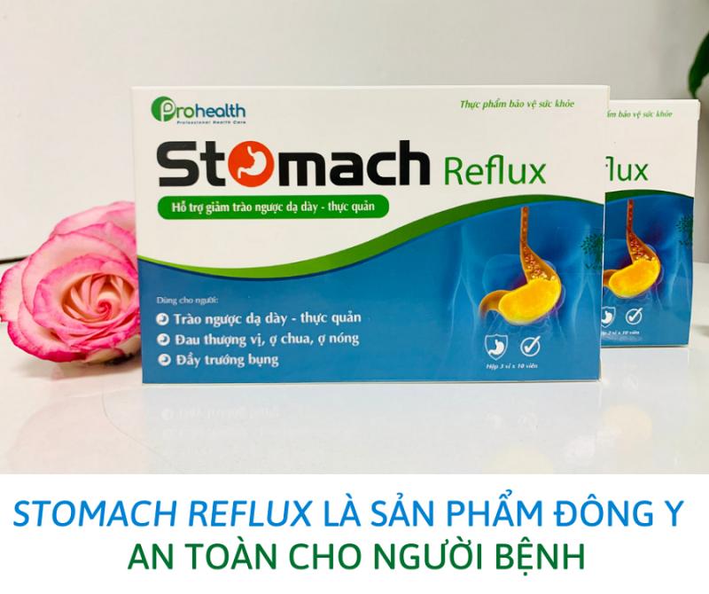 Liệu trình sử dụng Stomach Reflux để khỏi trào ngược dạ dày thực quản