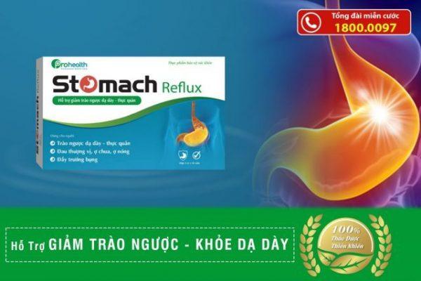 Stomach Reflux- giải pháp cho bệnh nhân trào ngược