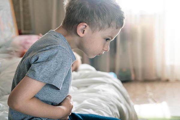 Nhiều trẻ nhỏ bị trào ngược dạ dày.