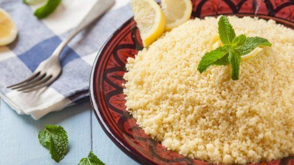 Hạt couscous.